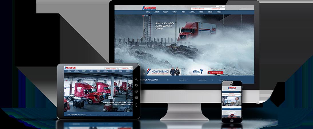 Palmer Marketing website design