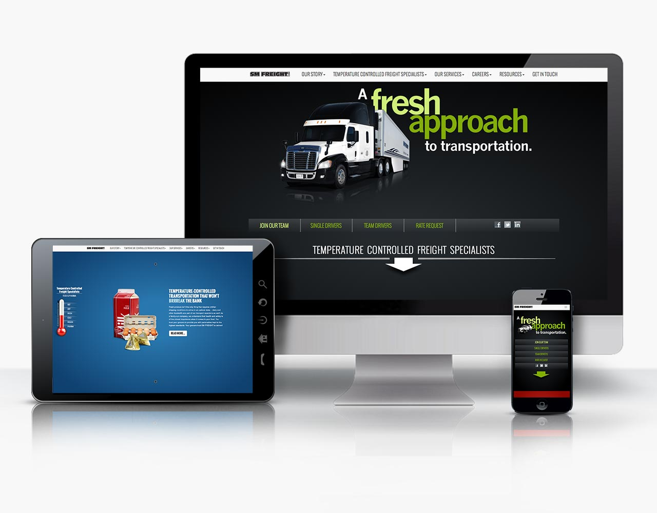 Palmer Marketing website