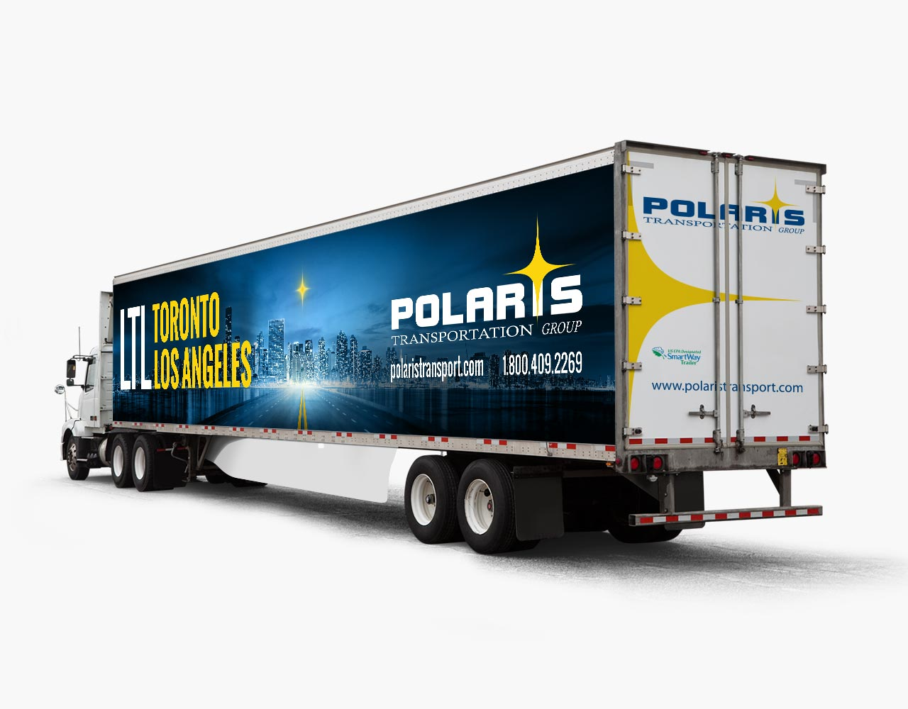 Palmer Marketing Advertising truck wrap